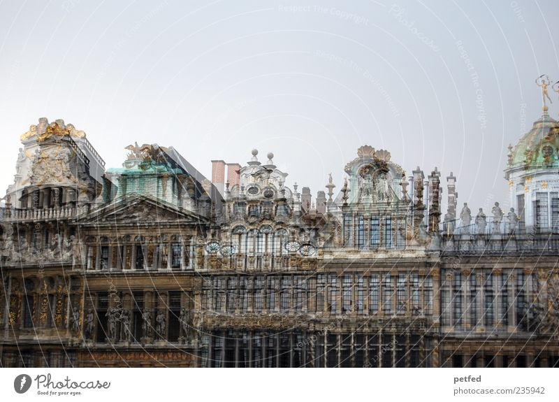 Old House (Residential Structure) Europe Culture Historic Tourist Attraction Double exposure Architect Building Belgium Brussels Historic Buildings