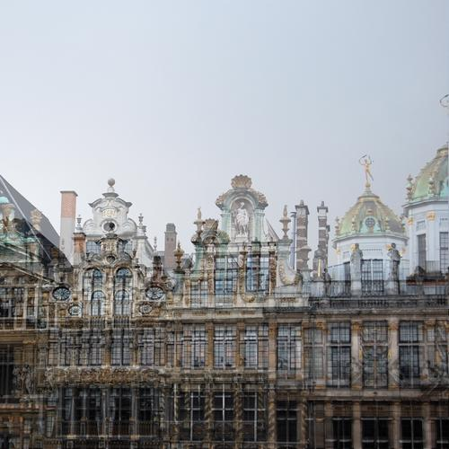 Brussels moves again Elegant Vacation & Travel Tourism Sightseeing Belgium Europe Capital city Downtown House (Residential Structure) Tourist Attraction Old