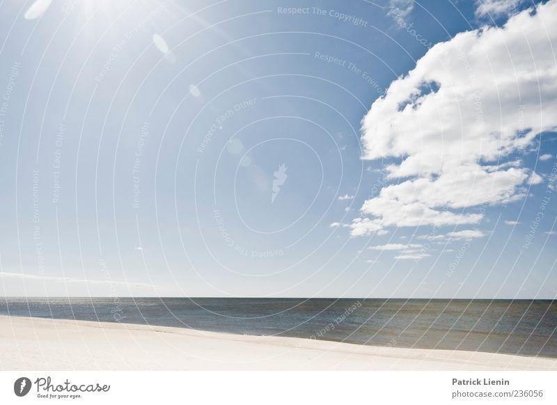 Sky Nature Blue Beautiful Vacation & Travel Sun Ocean Beach Colour Clouds Far-off places Environment Landscape Dark Coast Sand
