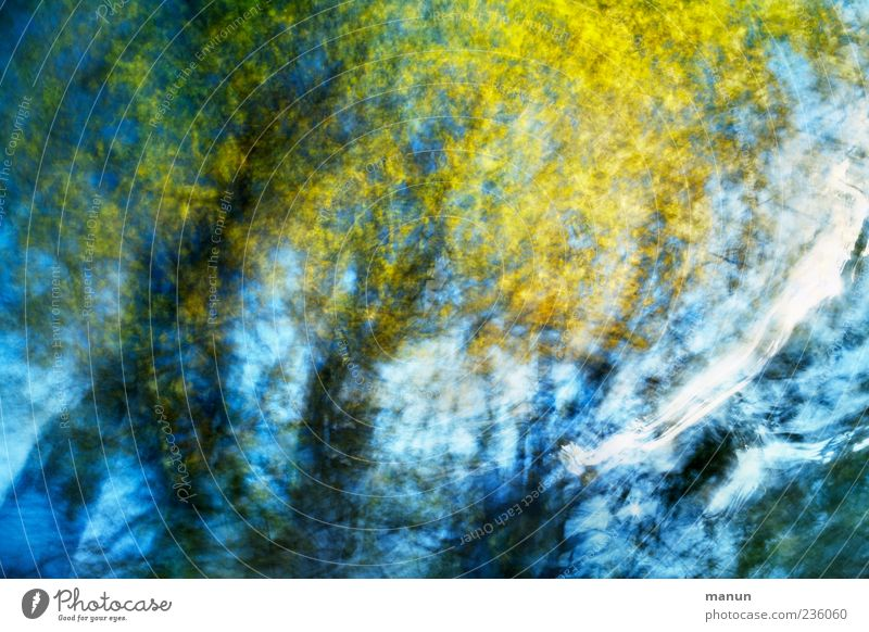 Sky Nature Blue Beautiful Summer Colour Yellow Spring Art Background picture Exceptional Design Modern Creativity Fantastic Chaos