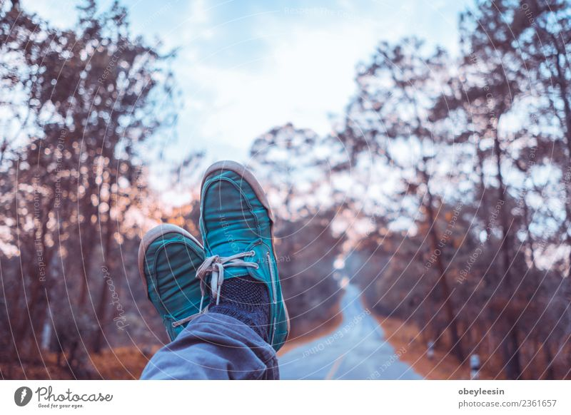 young asian man sit in a truck and looking at his feet Human being Man Old Colour Adults Lifestyle Natural Style Building Feet Fashion Brown Retro Vantage point