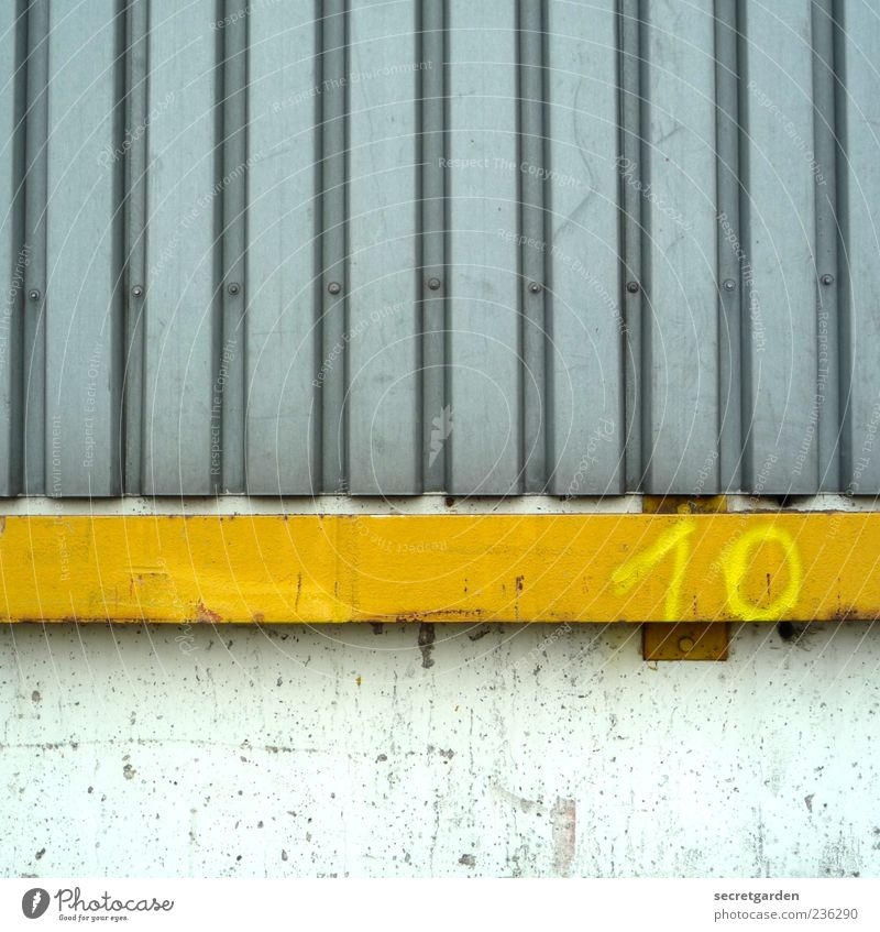 White Yellow Wall (building) Gray Wall (barrier) Building Metal Line Facade Stripe Digits and numbers Manmade structures 10 Rendered facade