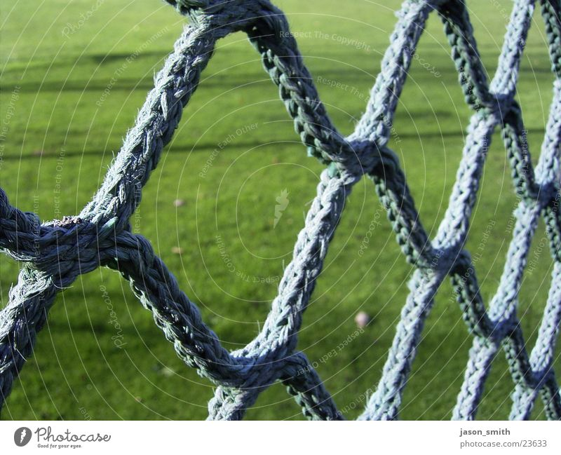 Nothing but net Green Net Macro (Extreme close-up) Detail Structures and shapes Plaited Grass surface Loop Cloth Rope Shallow depth of field Deserted