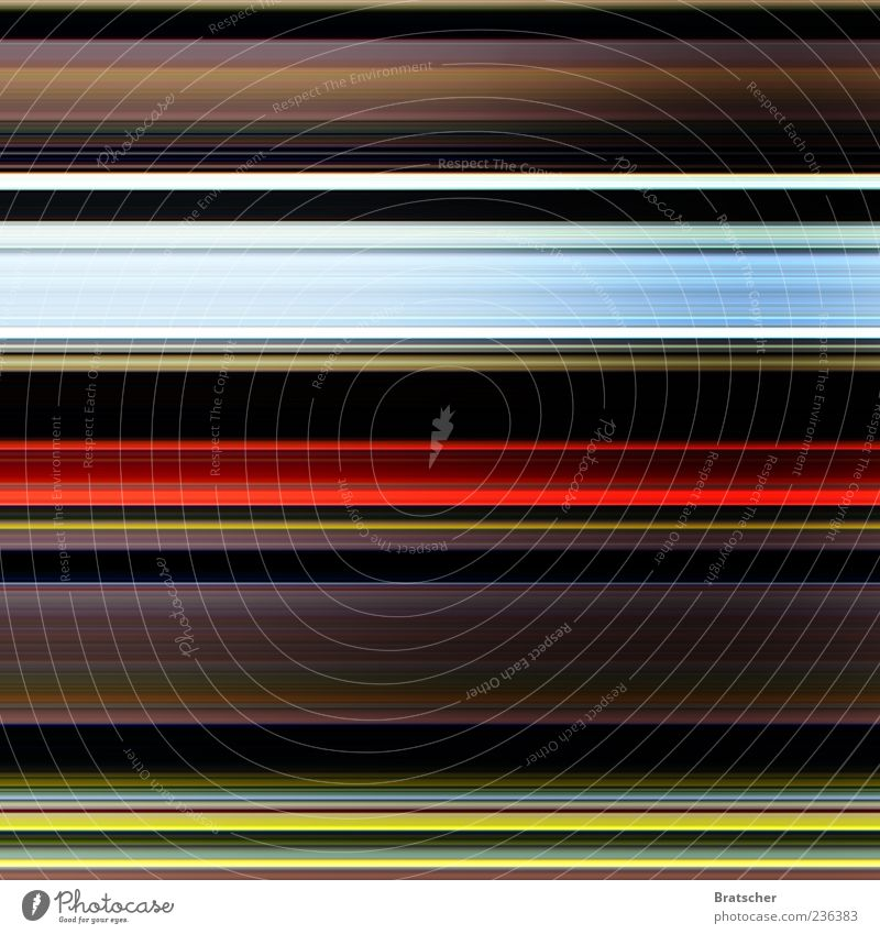 adrenaline Emotions Pattern Line Stripe Multicoloured Deserted Line width Background picture Strip of light Play of colours Bright Colours Light track Light art