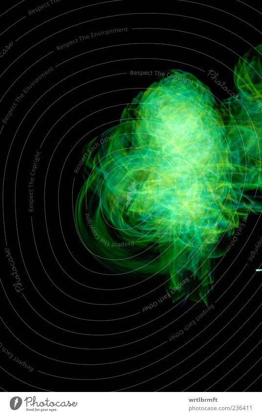 Green Yellow Movement Dream Esthetic Illuminate Shows Technology Rotate Bizarre