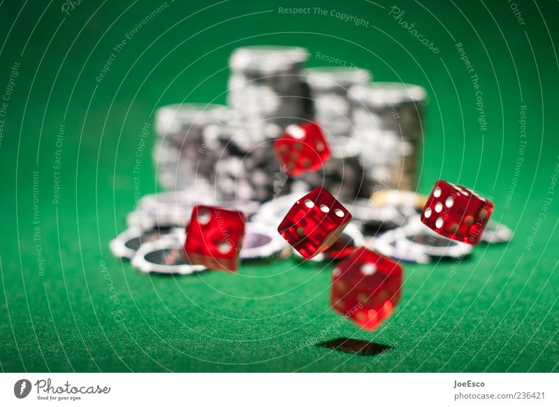 Green Red Playing Happy Dice Success Hope Money Risk Tension Floating Casino Vice Felt Multicoloured Game of chance