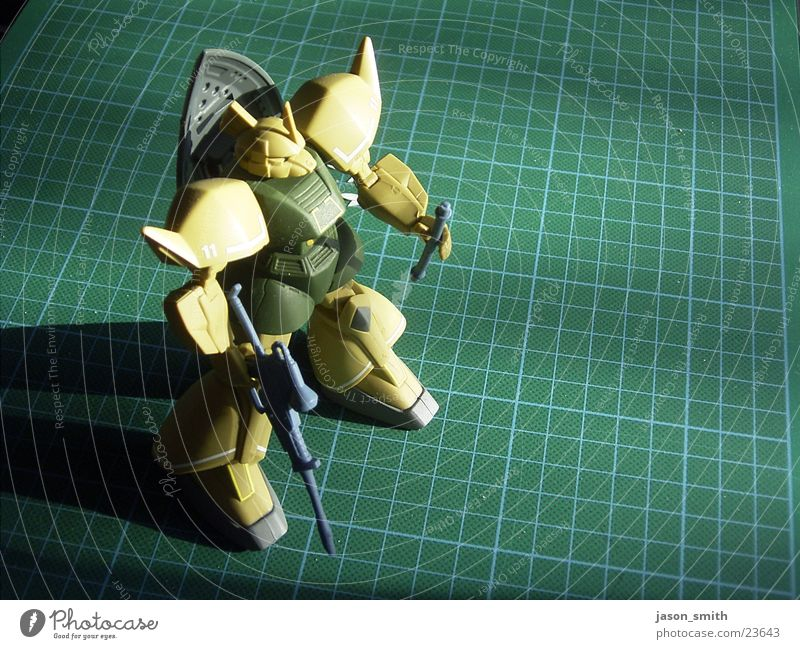 mech warrior Toys Warrior Robot Photographic technology gundam on mat