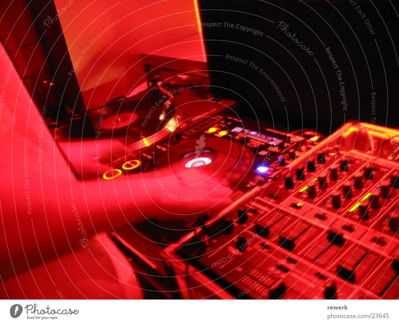 dj@work Disc jockey Club Going Party Record Dark Harmonious Photographic technology CD