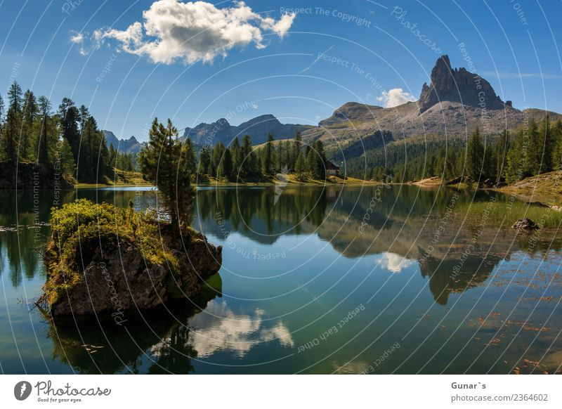 Lago di Federa a fantastic mountain lake_001 Relaxation Vacation & Travel Tourism Trip Adventure Far-off places Freedom Expedition Camping Summer