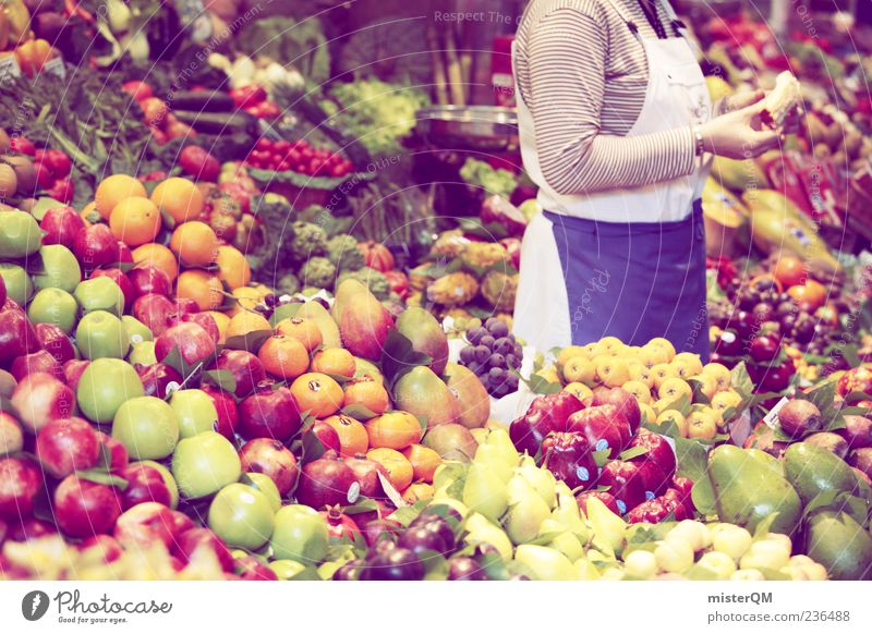 Food Healthy Fruit Orange Fresh Markets Many Healthy Eating Apple Vegetable Trade Economy Profession Barcelona Merchant Selection