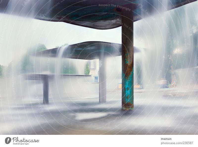Water Park Wet Well Tourist Attraction Waterfall Stuttgart Abstract Fountain Castle grounds