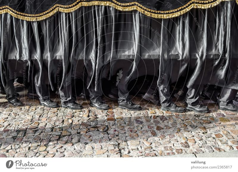 Holy Week procession in Spain Feasts & Celebrations Easter Culture Town Street Historic Passion Religion and faith Tradition Castile-Leon Castilla-Leòn Catholic