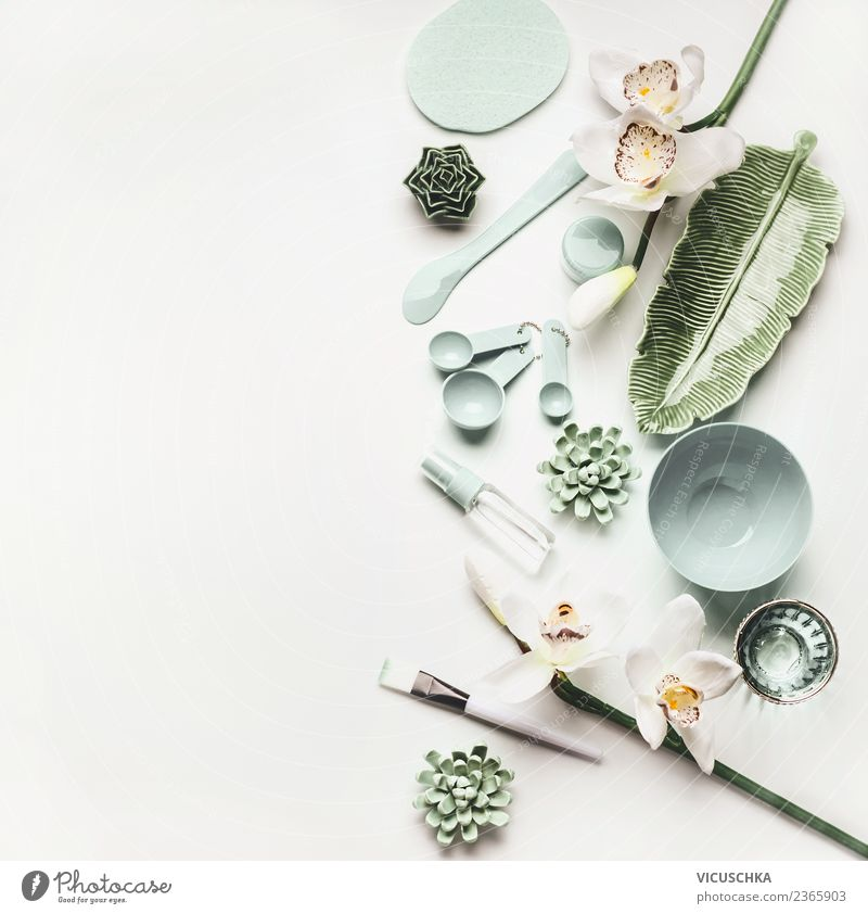 Beautiful Flower Face Healthy Background picture Style Hair and hairstyles Design Skin Wellness Desk Cosmetics Living room Bowl Paintbrush Cream