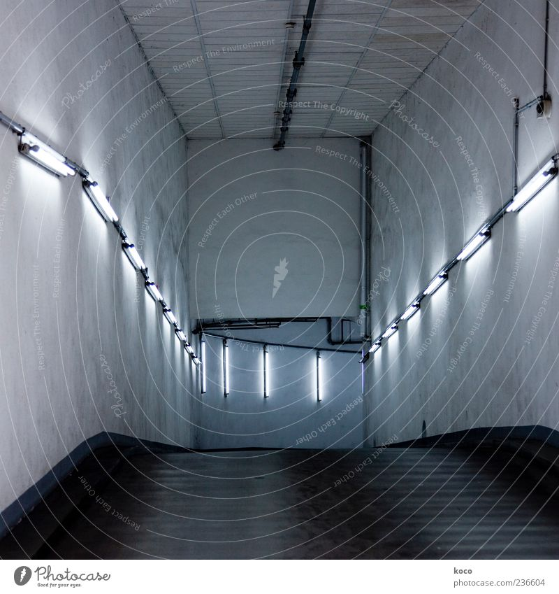 Blue White Black Street Cold Wall (building) Gray Wall (barrier) Glass Exceptional Concrete Transport Esthetic Illuminate Cool (slang) Tunnel