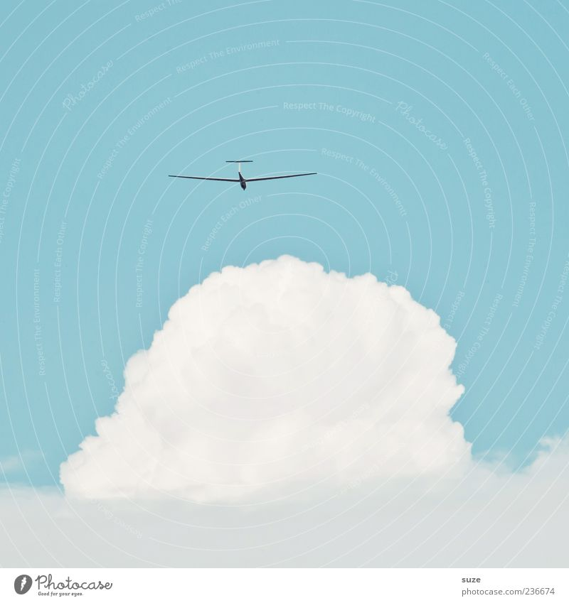 Sky Blue White Clouds Environment Warmth Freedom Bright Wind Flying Leisure and hobbies Climate Aviation Beautiful weather Friendliness Easy