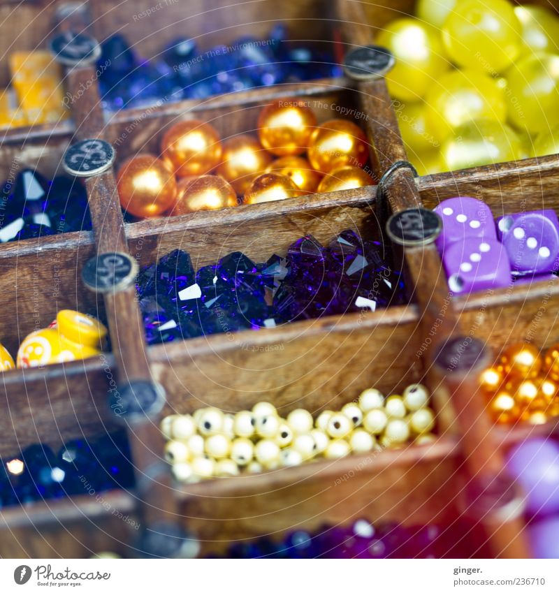 Small Art Large Decoration Dice Violet Tilt Difference Pearl Arrange Handicraft Price tag Offer Colour Guide Box