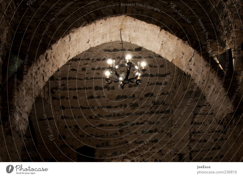 Old Dark Wall (building) Wall (barrier) Lamp Moody Fear Middle Castle Creepy Arch Archway Cellar Candlestick Medieval times Cellar arch