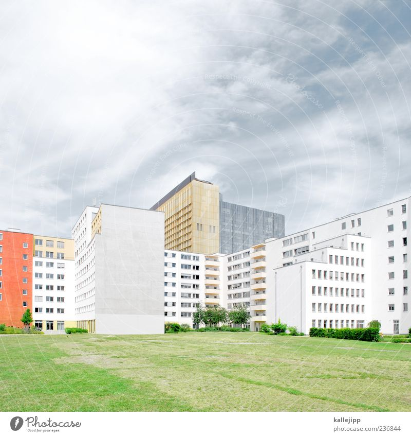 City House (Residential Structure) Meadow Berlin Style Park Flat (apartment) Design High-rise Living or residing Lifestyle Prefab construction Office building
