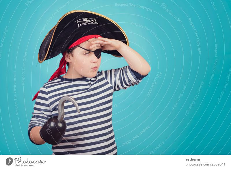 boy dressed as a pirate Child Human being Vacation & Travel Joy Lifestyle Emotions Party Feasts & Celebrations Masculine Infancy Birthday Happiness Smiling