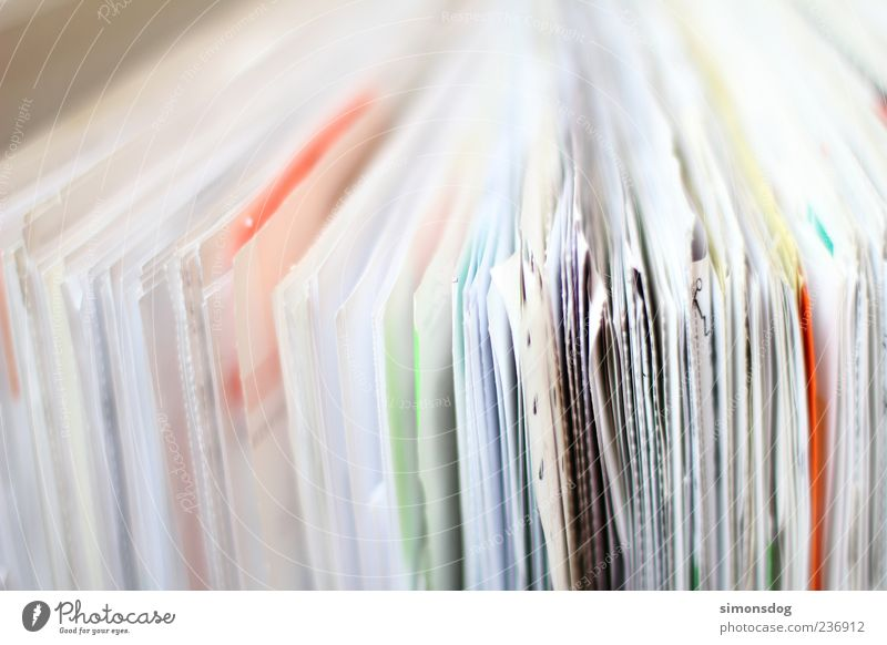 Work and employment Arrangement Study Paper Search Many Chaos Collection Muddled Piece of paper File Full Vista Heap Untidy