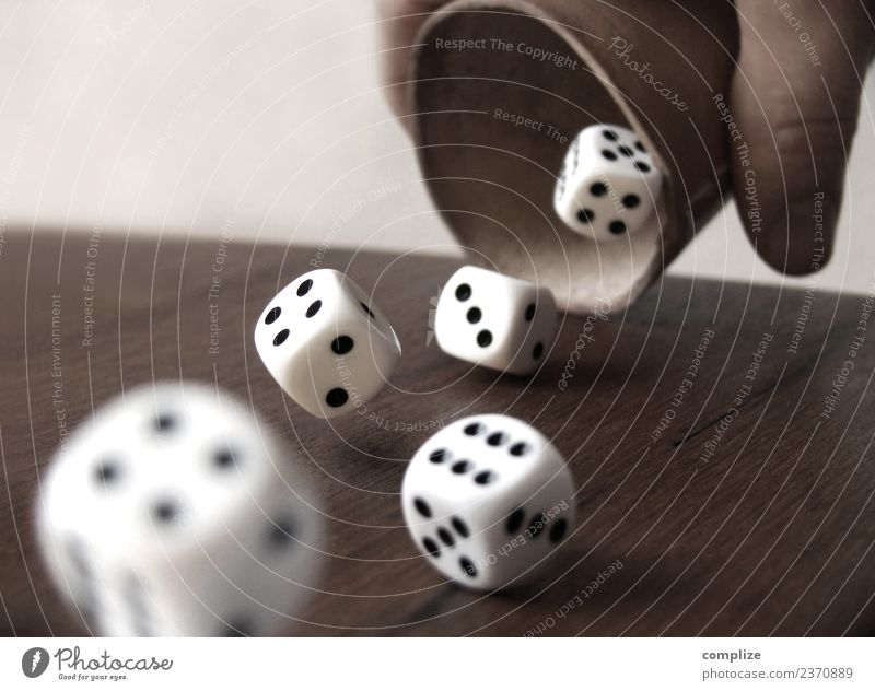 Dice Cups & Cubes Feasts & Celebrations Success Business Hand Fingers Sign Digits and numbers To fall Throw Compulsive gambling Happy Dice cup Throw dice Bet
