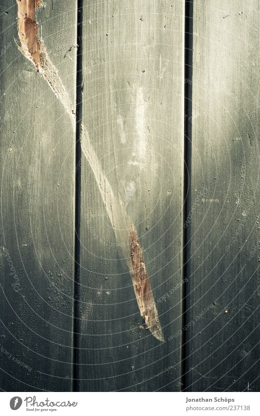 || Wood Gray Wooden wall Wooden board Scratch mark Structures and shapes Broken Destruction Surface structure Vertical Furrow Old Colour photo Exterior shot