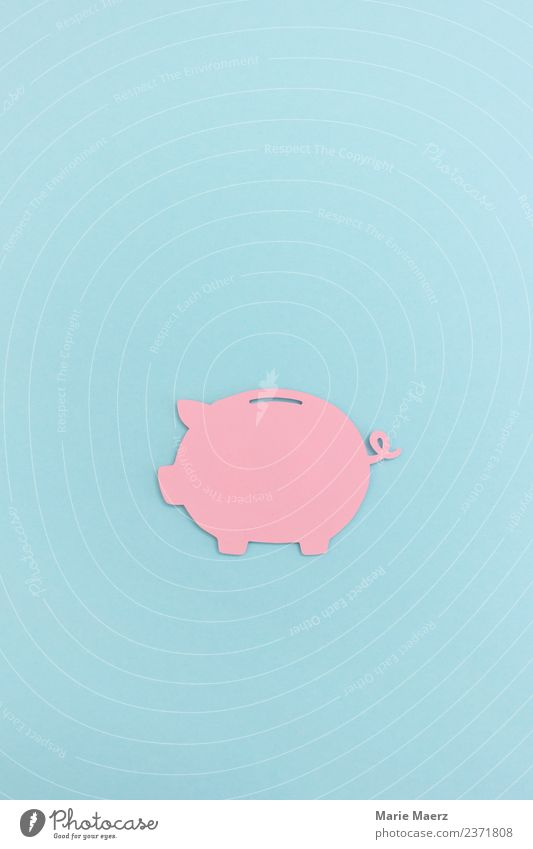 Pink piggy bank Financial Industry Financial institution Save Poverty Simple Cheap Rich Blue Virtuous Safety Disciplined Modest Thrifty Money Nostalgia Trust