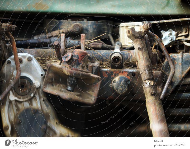 something old Metal Steel Rust Old Decline Transience Scrap metal Colour photo Deserted Broken Defective