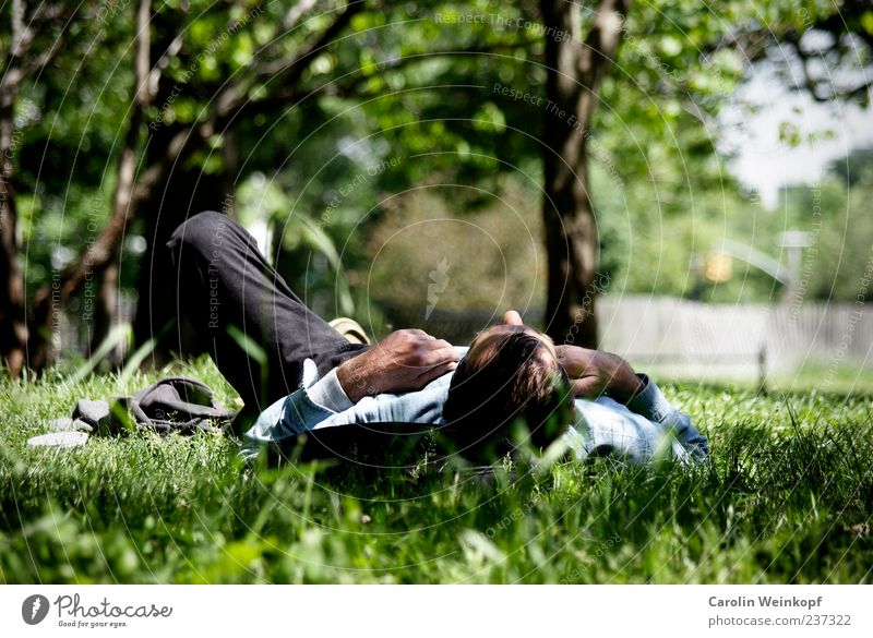 Relax. Lifestyle Harmonious Well-being Contentment Relaxation Calm Leisure and hobbies Freedom Summer Sunbathing Spring Park Meadow Emotions Grass Lunch hour
