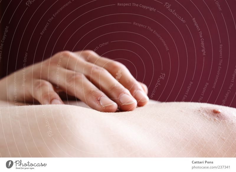 Hand Relaxation Naked Bright Skin Lie Masculine Fingers Sleep Soft Touch Near Delicate Thin Chest Smooth