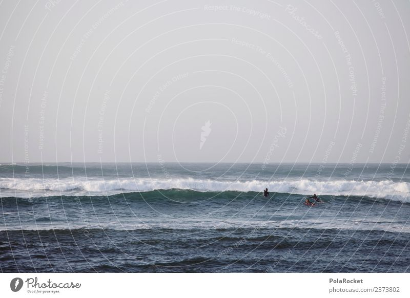 #A# breath the ocean Art Esthetic Ocean Sea water Waves Surfing Surfer Aquatics Vacation mood Colour photo Subdued colour Exterior shot Detail Experimental
