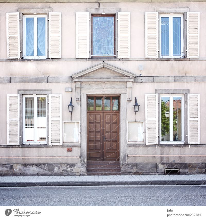 Rue de la gare de l est House (Residential Structure) Manmade structures Building Architecture Facade Window Door Street Sidewalk Old Esthetic Colour photo