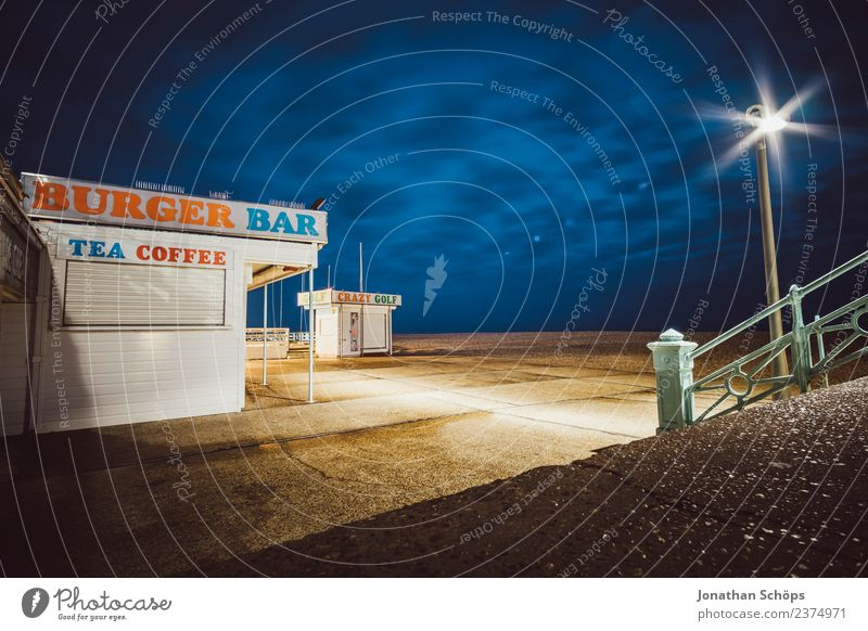 Loneliness Dark Background picture Esthetic Empty Places Coffee Lantern Café Bar Tea England Night life Night sky Night shot Hamburger