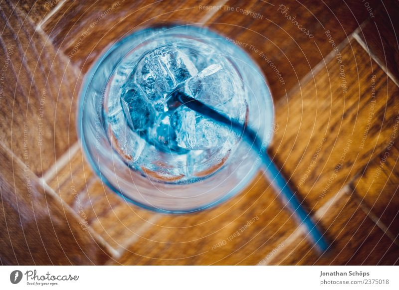 Blue Water Cold Wood Food Ice Esthetic Glass To enjoy Empty Drinking water Beverage Restaurant Fluid Alcoholic drinks