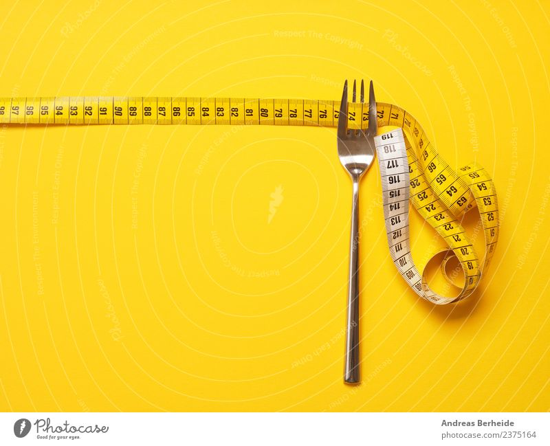 Desired weight through proper nutrition Nutrition Diet Fasting Fork Lifestyle Healthy Healthy Eating Overweight Christmas & Advent Heart Fitness Yellow