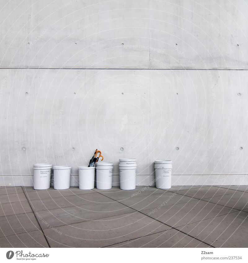 City Loneliness Cold Wall (building) Gray Wall (barrier) Building Style Line Facade Arrangement Modern Esthetic Gloomy Clean Simple