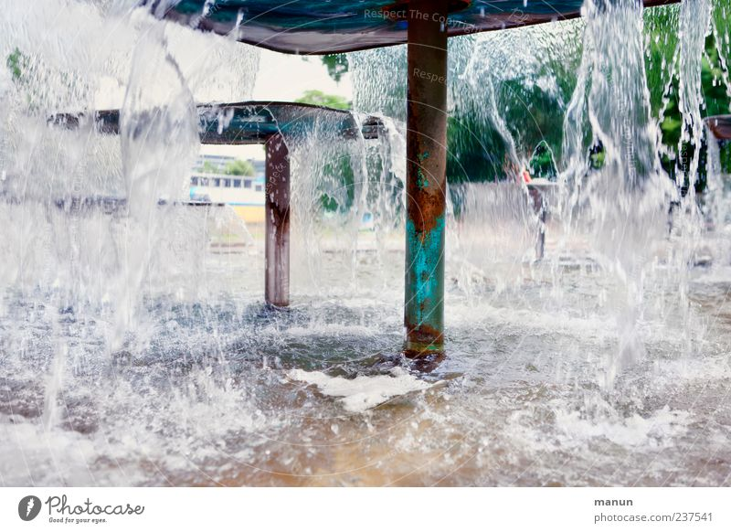 Water Park Tourism Authentic Well Tourist Attraction Stuttgart Vacation & Travel Fountain Castle grounds