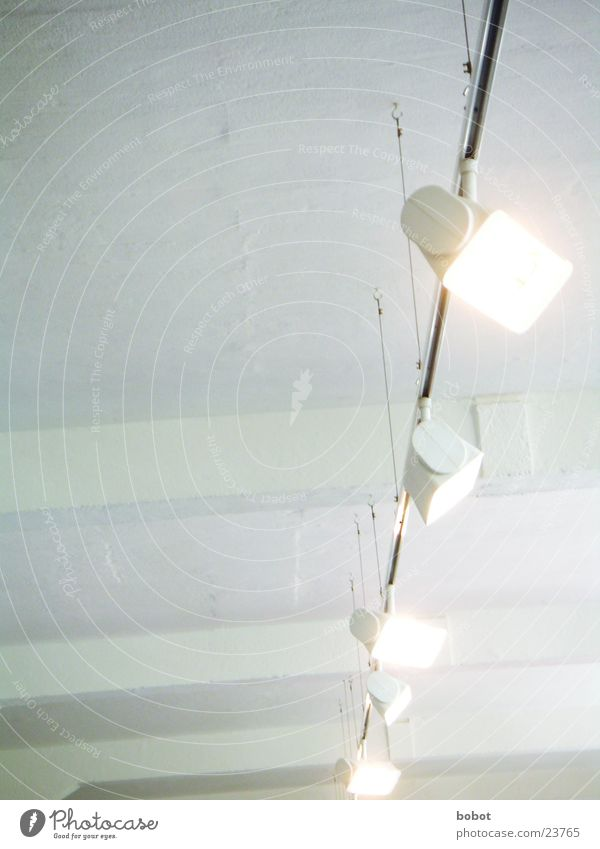 White Living or residing Workshop Illuminate Blanket Floodlight