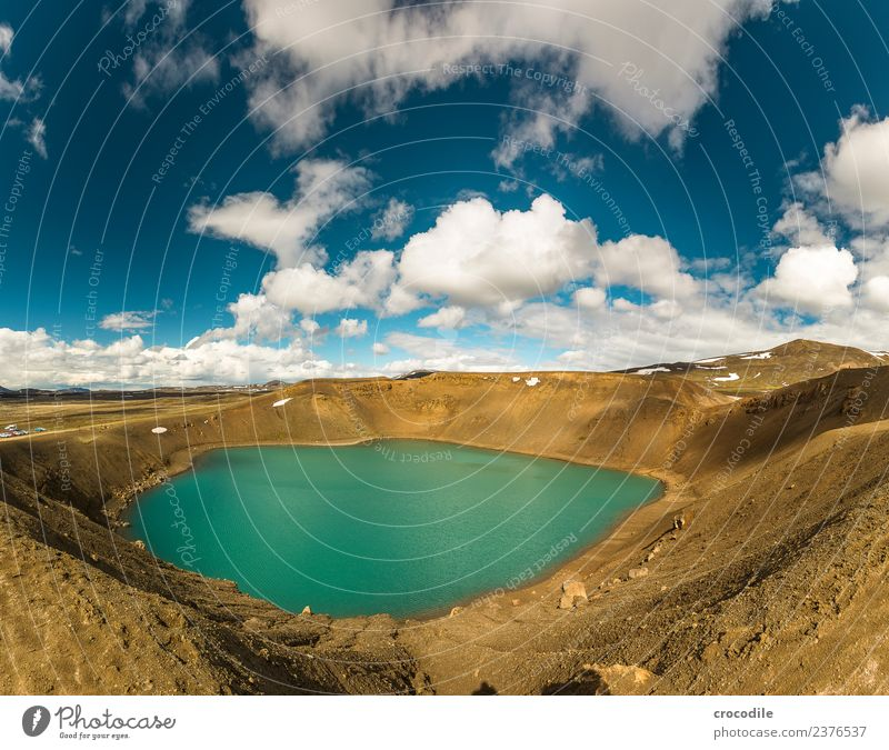 # 755 Viti Crater Iceland Krafla North Volcano Long exposure Clouds Colour photo Earth Gloomy Desert Cold Electricity generating station Geothermy