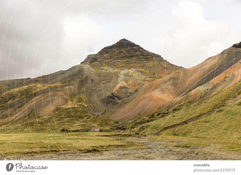 Green Far-off places Mountain Hiking Vantage point Peak River Farm Iceland Moss Volcano Lichen Lava Eruption Belt highway