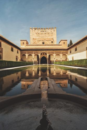 Vacation & Travel Summer Water Architecture Building Tourism Trip Culture Historic Might Manmade structures City trip Castle Spain Hot Sightseeing