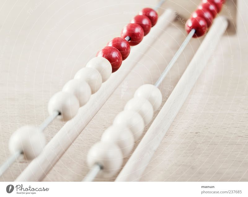 White Red Wood Bright Multiple Study Authentic Digits and numbers Education Simple Sign Sphere Smart Financial Industry Calculation Numbers