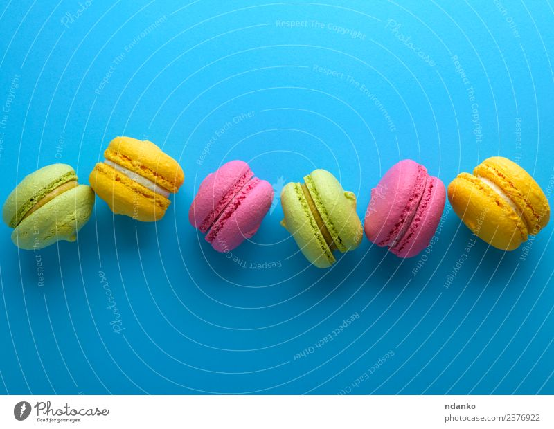 Multicolored Cakes Dessert A Royalty Free Stock Photo From Photocase