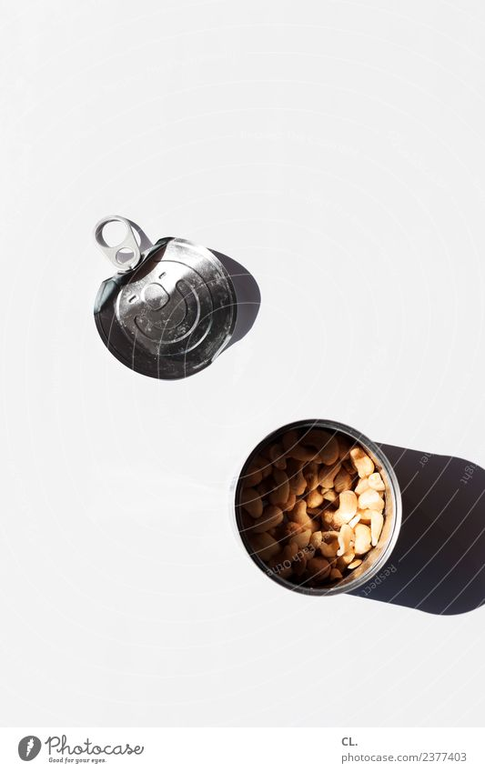what was available / can with nuts Food Nut Nutrition Eating Packaging Tin Product Metal Esthetic Simple Healthy Delicious Shopping Thrifty Colour photo