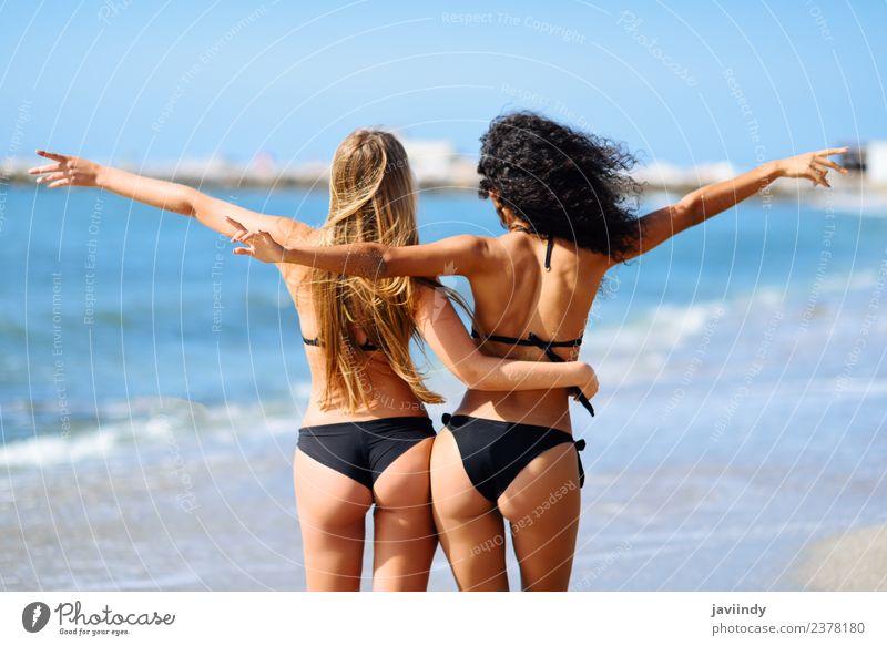 two people having fun