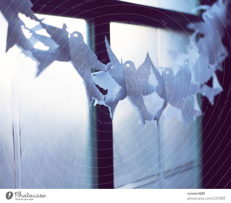 Joy Window Art Feasts & Celebrations Exceptional Esthetic Future Decoration Religion and faith Snapshot Window pane Pigeon Festive Peaceful Back-light Ritual