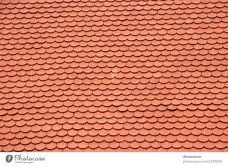 Red roof cover bricks Design House (Residential Structure) Craft (trade) Building Architecture Authentic Modern New Home Tile construction Roofing rooftop Top