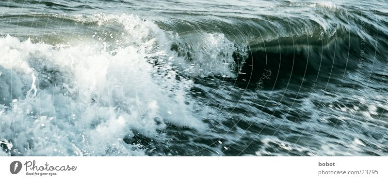 Ocean Waves Drops of water Energy industry Point Blow Water Inject Foam High tide White crest Sea water