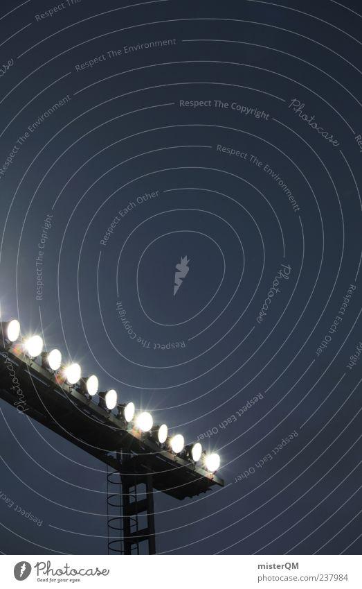 Lighting Event Stage lighting Stadium Football pitch Contrast Arena Floodlight Stands Football stadium