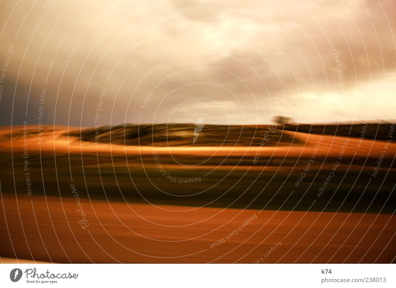 Sky Nature Clouds Environment Landscape Movement Sand Brown Field Earth Driving Elements Traffic infrastructure Motoring Road traffic Cloud cover